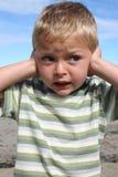 Boy at beach Royalty Free Stock Image
