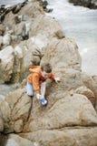 Boy at the Beach Royalty Free Stock Photos