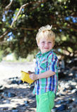 Boy at the beach. Royalty Free Stock Photo