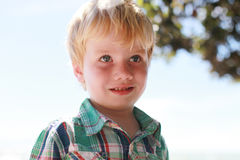 Boy at the beach. Stock Photography