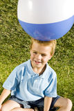 Boy beachball Royalty Free Stock Photography