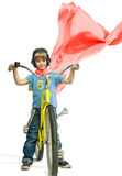 Boy with bicycle Royalty Free Stock Image