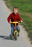 Boy on a Bike Royalty Free Stock Image