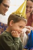 Boy at birthday party. Stock Photography