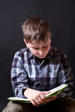 Boy with a book Stock Photography