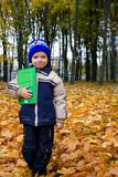Boy with the book Royalty Free Stock Photography