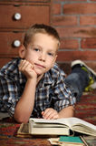 Boy with a books Royalty Free Stock Photography