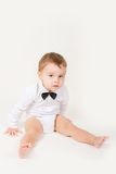 Boy with a bow-tie Royalty Free Stock Image