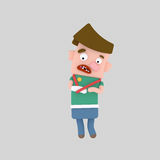 Boy with a broken arm. Easy combine! Custom 3d illustration contact me vector illustration