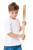 Boy with bruise Royalty Free Stock Images
