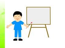 Boy With Brush Means School Boy Artist Or. Boy With Brush Meaning School Boy Artist Or Creative Art Stock Photos