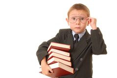 Boy Businessman 16 Royalty Free Stock Image