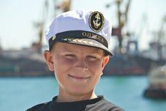 Boy cap Royalty Free Stock Photo