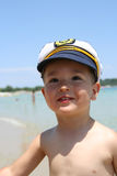 Boy Captain Stock Image