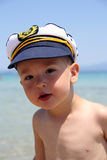 Boy Captain Royalty Free Stock Photo
