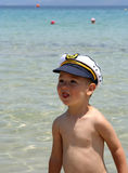 Boy Captain Royalty Free Stock Images
