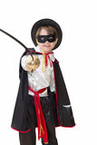 Boy with carnival costume Royalty Free Stock Photo