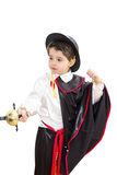 Boy with carnival costume Royalty Free Stock Image