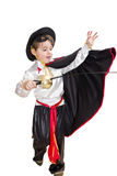 Boy with carnival costume Royalty Free Stock Photography
