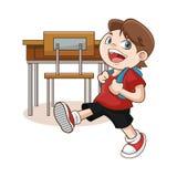 Boy cartoon of back to school design Stock Photos