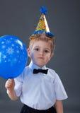 Boy celebrating the birthday Stock Photo
