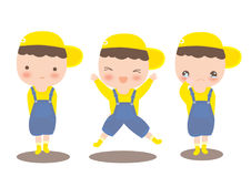 Boy character Royalty Free Stock Images