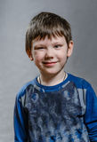 The boy is cheeky and ironist Royalty Free Stock Photography