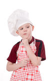 A boy chef Stock Photos