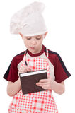 Boy chef Stock Photography