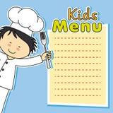 Boy chef Royalty Free Stock Photos