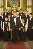 Boy Choir of Munkacs perform in Budapest Royalty Free Stock Photography