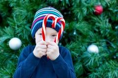 Boy at christmas Royalty Free Stock Image