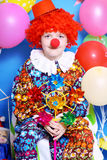 Boy clown Stock Photo