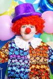 Boy clown Stock Images