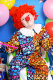 Boy clown Stock Image
