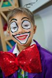 Boy clown Royalty Free Stock Photos