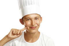 Boy cook Royalty Free Stock Photos