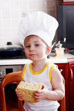 Boy cook Royalty Free Stock Images