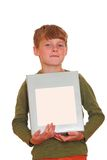 Boy with copyspace Stock Photo