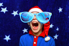 Boy in costume Royalty Free Stock Photo