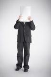 Boy covers the head Stock Photos