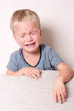 Boy crying. Stock Images