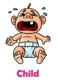 boy crying little Στοκ φωτογραφία με δικαίωμα ελεύθερης χρήσης
