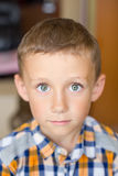 The boy is crying Royalty Free Stock Image