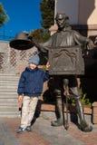 Boy and dad Carlo Royalty Free Stock Photo