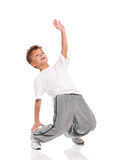 Boy dancing Royalty Free Stock Image