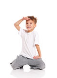 Boy dancing Stock Image