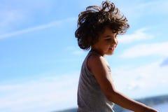 Boy dancing Stock Images