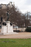 The Boy David. Is a memorial to the dead of the Machine Gun Corps in the First World War at Hyde Park Corner in London Stock Photos