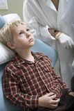Boy At Dentist Clinic Stock Photo